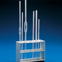 Pipettes and supports