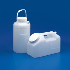 URINE COLLECTION BOTTLES HDPEGraduated -  Round with Cap + Handle 2.5 lt pkt 1