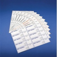 Adhesive labels Safety labels
