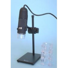 MICROSCOPE M-503L Zoom USB microscope 2MP Features: Zoom Focus system 10x ?230x approx. on 17? monitor 2.0 MP USB2.0 colour camera 1600x 1200 resolution High quality lenses LED illumination that is adjustable with on and off switch. Live viewi