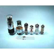 Thermionic tube, diode tube, type '6x4'. Each